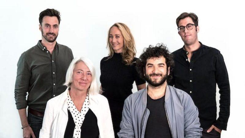 Dokumentarfilmjury First Steps, Martin Heisler, Produzent Alice Agneskirchner, Petra Gute, Yunus Roy Imer, John Gürtler