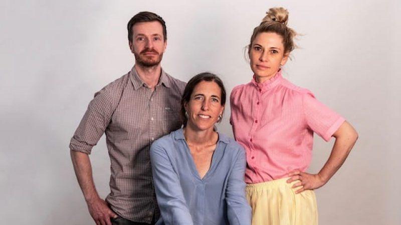 Drehbuchjury First Steps, Esther Bernstorff, Laura Lackmann, Paul Salisbury
