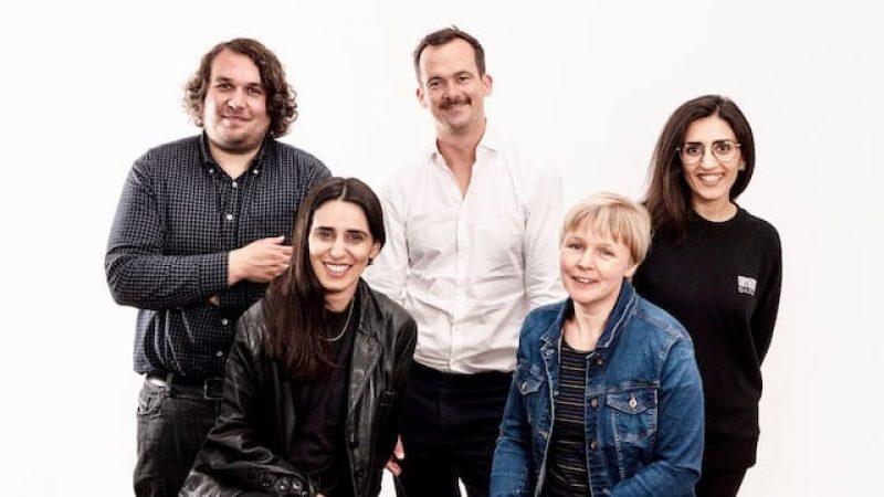 Spielfilmjury First Steps, Robert Hofmann, Maryam Zaree, Jonas Dornbach, Daniela Knapp, Soleen Yusef, Frank Nagel
