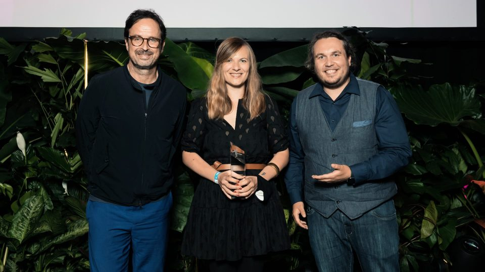 FIRST STEPS Award 2020, Stefan Gärtner, Constanze Klaue, Robert Hofmann