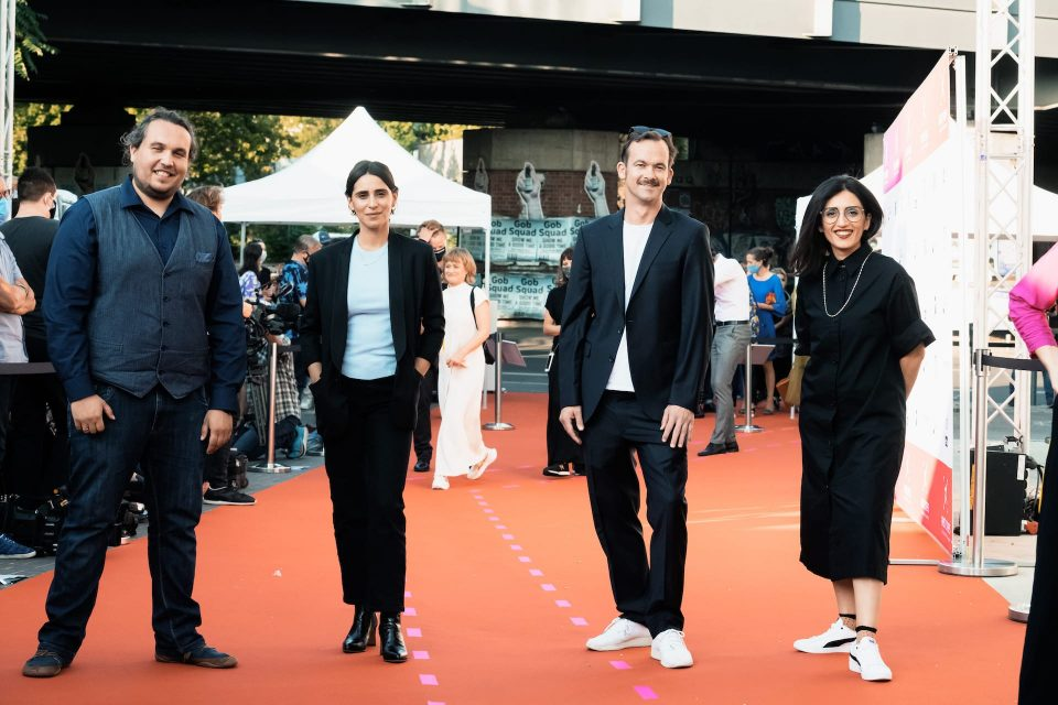FIRST STEPS Award 2020, Spielfilmjury, Robert Hofmann, Maryam Zaree, Jonas Dornbach, Soleen Yusef