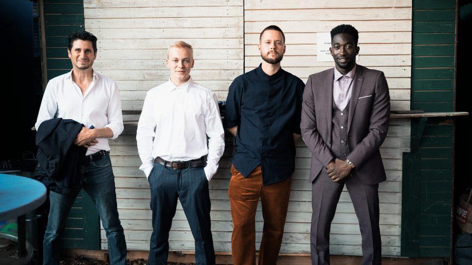 FIRST STEPS Award 2020, Toubab, Marcos Kantis, Julius Nitschkoff, Florian Dietrich, Farba Dieng