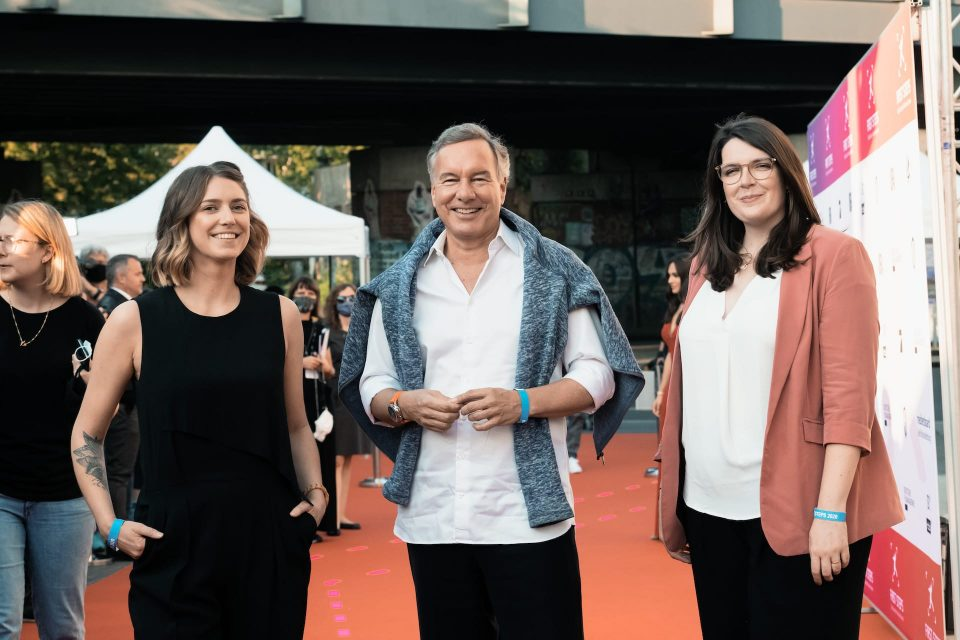FIRST STEPS Award 2020, Jennifer Stahl, Nico Hofmann, Anne Ballschmieter
