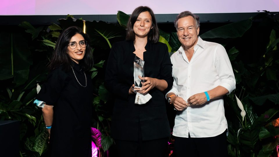 FIRST STEPS Award 2020, Soleen Yusef, Sandra Wollner, Nico Hofmann