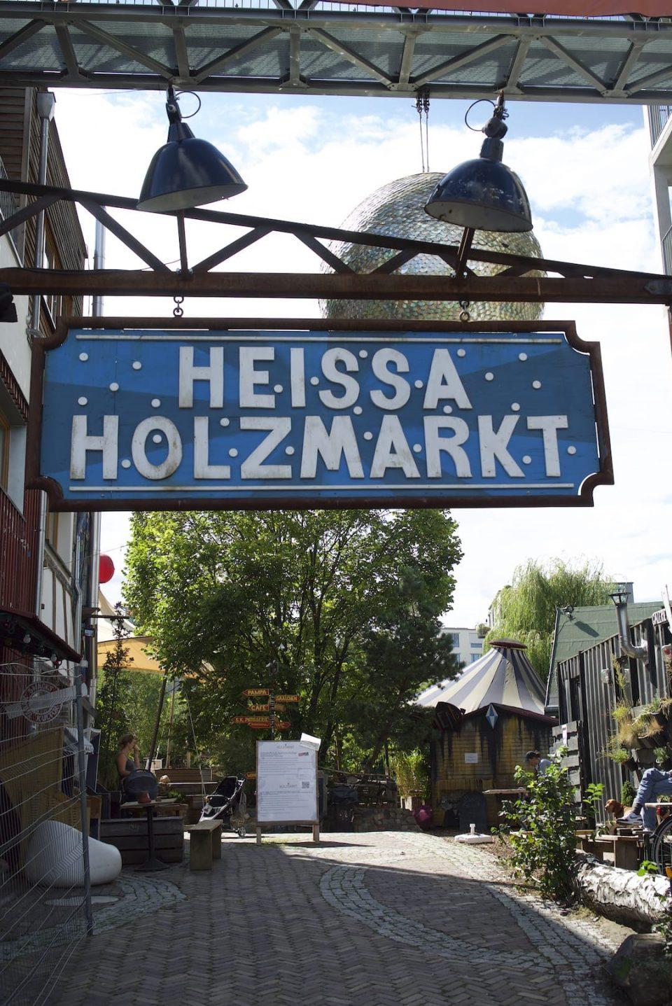 Holzmarkt, Location First Steps 2020