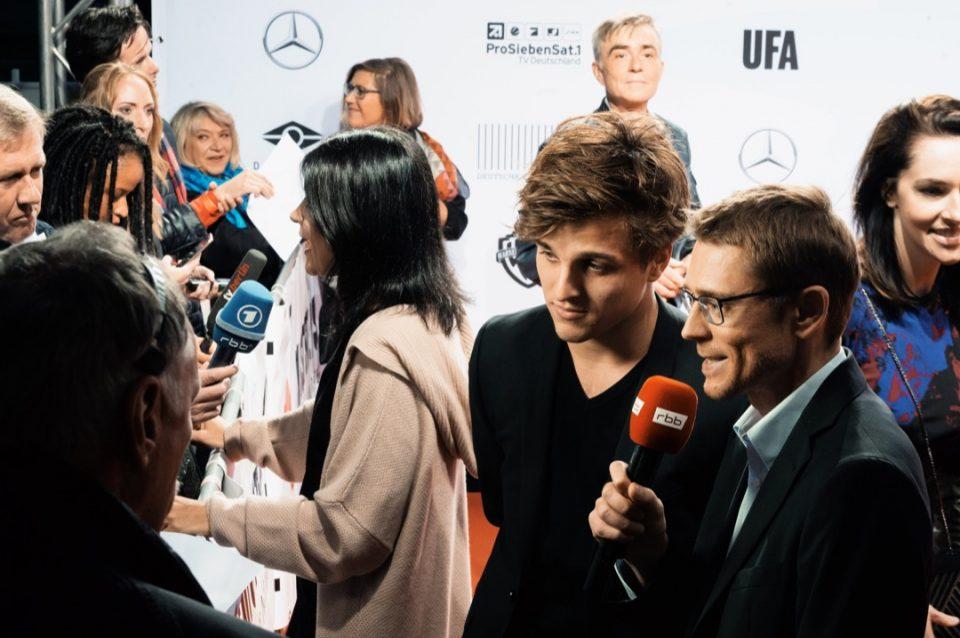 Roter Teppich, Presse, Interview