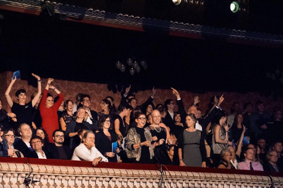 Jubel, Publikum, Theater