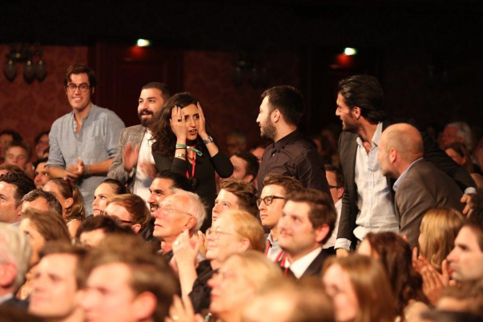 Publikum, Preisträger, Jubel