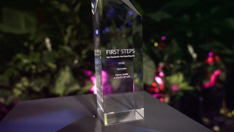 FIRST STEPS, Trophäe, Preis, Award
