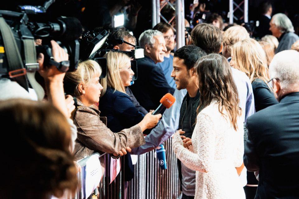 Roter Teppich, Interview, Presse
