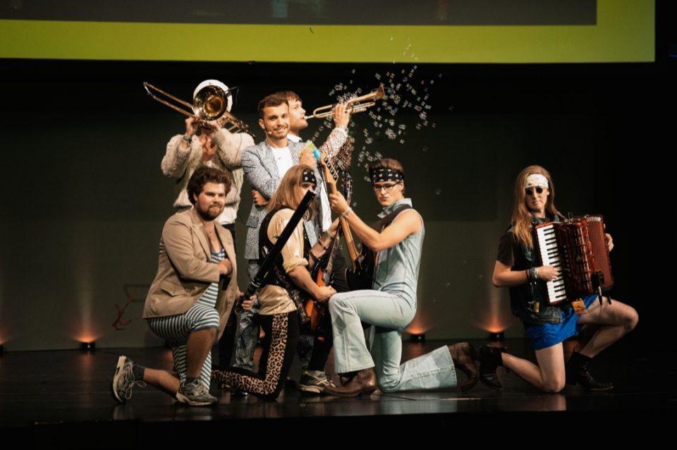 Theater, Verleihung, Bühne, Edin Hasanovic