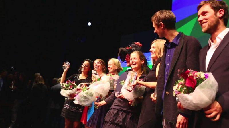 Rückblick, Verleihung, Theater, Bühne