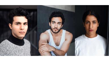 Banafshe Hourmazdi, Benjamin Rajaipour, Eidin Jalali, Preisträger First Steps Award 2019