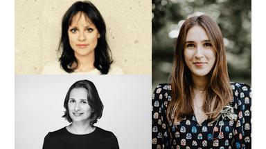 Laura Roll, Laura Mihajlovic, Caroline Meyer, nominiert First Steps Award 2019